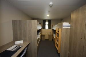 Triple Porthole Cabin