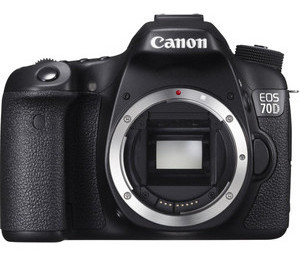 Canon EOS 70D camera body
