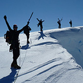 登山 - 南极半岛 -  基地营 Ortelius