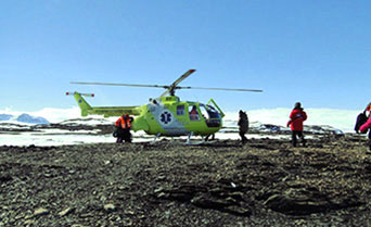 Weddell Sea - In search of the Emperor Penguin including helicopters