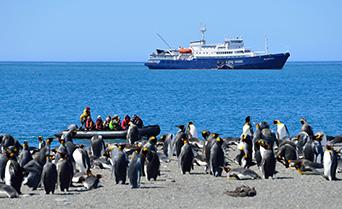 Antarctic Peninsula with South Shetland Islands