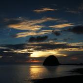 兰屿的日落 - 台湾